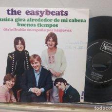 Discos de vinilo: SINGLE THE EASYBEATS LA MUSICA GIRA ALREDEDOR DE MI CABEZA VG++. Lote 184032023