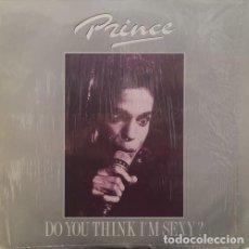 Discos de vinilo: PRINCE - DO YOU THINK IM'M SEXY - DOBLE LP DE VINILO EN DIRECTO EN MILAN EN 1987 #. Lote 184033395