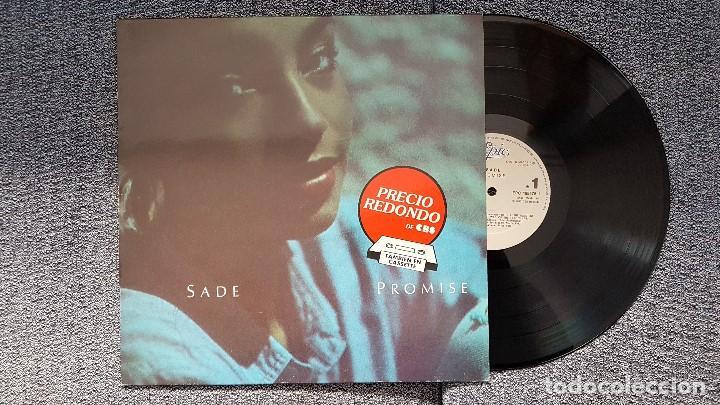 SADE - PROMISE. AÑO 1985. EDITADO POR CBS (Música - Discos - LP Vinilo - Funk, Soul y Black Music)