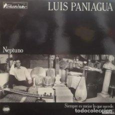 Discos de vinilo: LUIS PANIAGUA - NEPTUNO SIEMPRE ES LO MEJOR QUE SUCEDE - LP DE VINILO #. Lote 184035296
