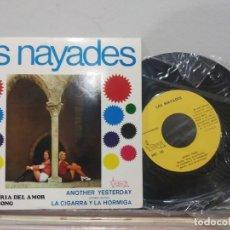 Discos de vinilo: EP LAS NAYADES LA ALEGRIA DEL AMOR EX/EX NUEVO!. Lote 184036798