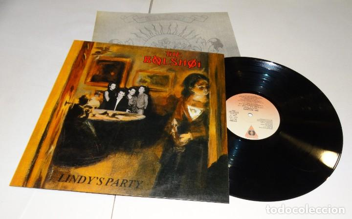 THE BOLSHOI- LINDY'S PARTY - LP 1987 (Música - Discos - LP Vinilo - Pop - Rock - New Wave Extranjero de los 80)