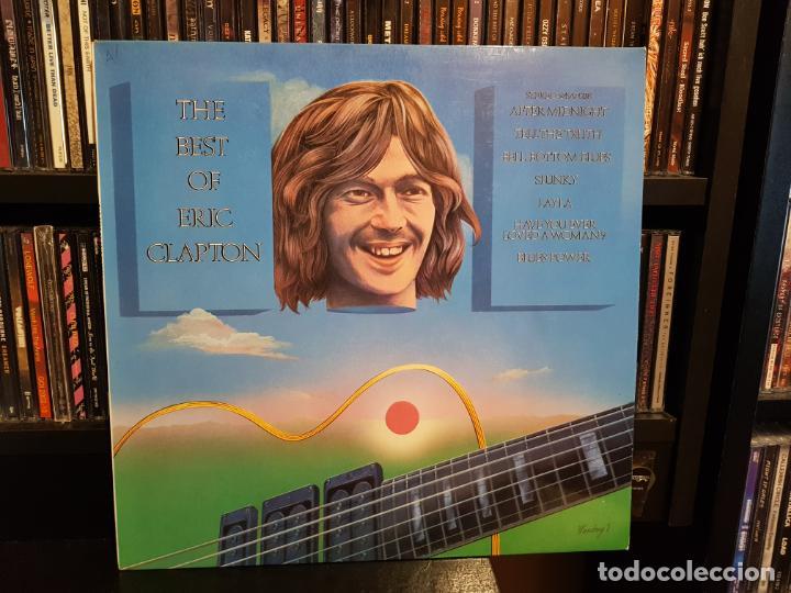 ERIC CLAPTON - THE BEST OF ERIC CLAPTON (Música - Discos - LP Vinilo - Pop - Rock - Extranjero de los 70)