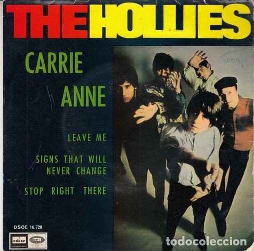 THE HOLLIES - CARRIE ANNE - EP ESPAÑOL DE VINILO # (Música - Discos de Vinilo - EPs - Pop - Rock Extranjero de los 50 y 60)