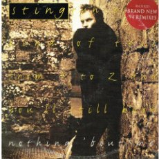 Discos de vinilo: STING - NOTHING BOUT ME / IF I EVER LOSE MY FAITH IN YOU (2 VERSIONES) +1 - MAXI 1994 - ED. FRANCIA. Lote 184044432
