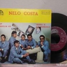 Discos de vinilo: EP NELO COSTA STOP BRASILIA 68 COMO NUEVO EXCELENTE. Lote 184046035