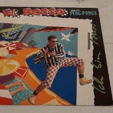 Disques de vinyle: EL BOSSO & DIE PING PONGS -ICH BIN TOURI- (1991) MINIALBUM. Lote 184050786