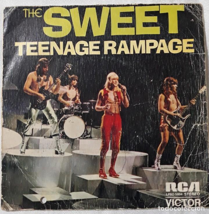 Discos de vinilo: REDBONE 1974, THE SWEET 1974-75, THE BEE GEES 1975, STORIES 1973, ETC..... LOTE DE 14 SINGLES - Foto 3 - 184051320