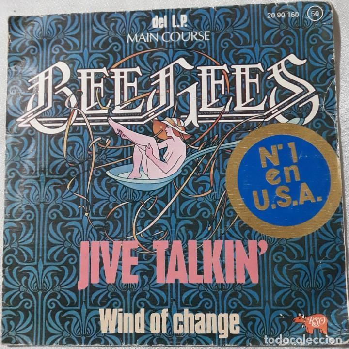 Discos de vinilo: REDBONE 1974, THE SWEET 1974-75, THE BEE GEES 1975, STORIES 1973, ETC..... LOTE DE 14 SINGLES - Foto 4 - 184051320