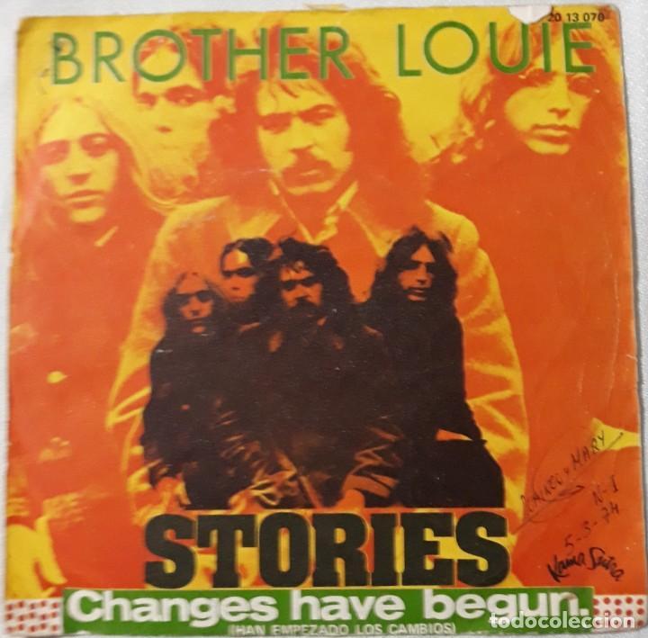 Discos de vinilo: REDBONE 1974, THE SWEET 1974-75, THE BEE GEES 1975, STORIES 1973, ETC..... LOTE DE 14 SINGLES - Foto 6 - 184051320
