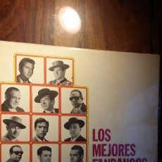 Discos de vinilo: LOS MEJORES FANDANGOS (FOSFORITO, MARCHENA, VALDERRAMA, PORRINA, PINTO, MARAVILLAS.. Lote 184052931