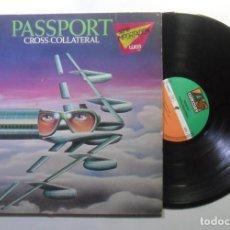 Discos de vinilo: LP - PASSPORT - CROSS-COLLATERAL - ATLANTIC - 1975. Lote 184057200