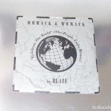 Discos de vinilo: WOMACK & WOMACK ----CELEBRATE THE WORLD / FRIENDS -----MINT ( M- ). Lote 184072887