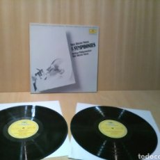 Discos de vinilo: HANS WERNER HENZE, 5 SINFONIAS, FILARMONICA DE BERLIN.. Lote 184077017