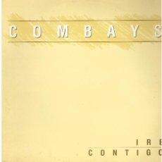 Discos de vinilo: COMBAYS - IRE CONTIGO / CAMINABA POR LA ARENA - MAXISINGLE 1990. Lote 184077672