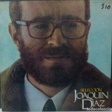 Disques de vinyle: JOAQUIN DIAZ // SELECCION //1973 // PORTADA DOBLE // (VG VG). LP. Lote 184079290