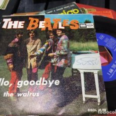 Discos de vinilo: SINGLE BEATLES HELLO GOODBYE BUEN ESTADO. Lote 184079380