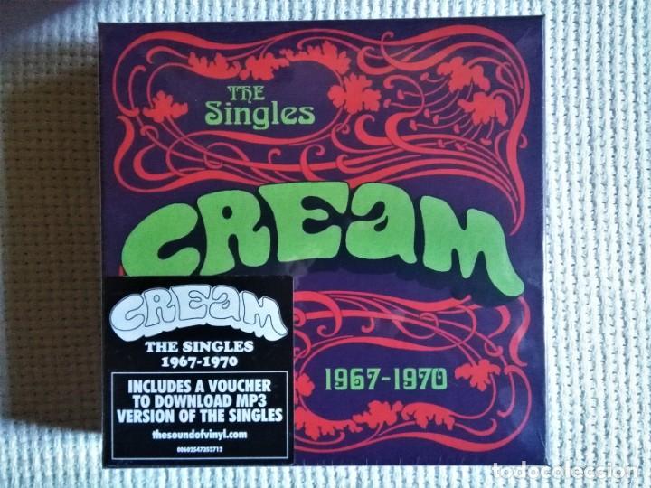 CREAM - '' THE SINGLES 1967 - 1970 '' 10 VINYL SINGLE 7'' BOX SET 2015 EU SEALED (Música - Discos - Singles Vinilo - Pop - Rock - Internacional de los 70)
