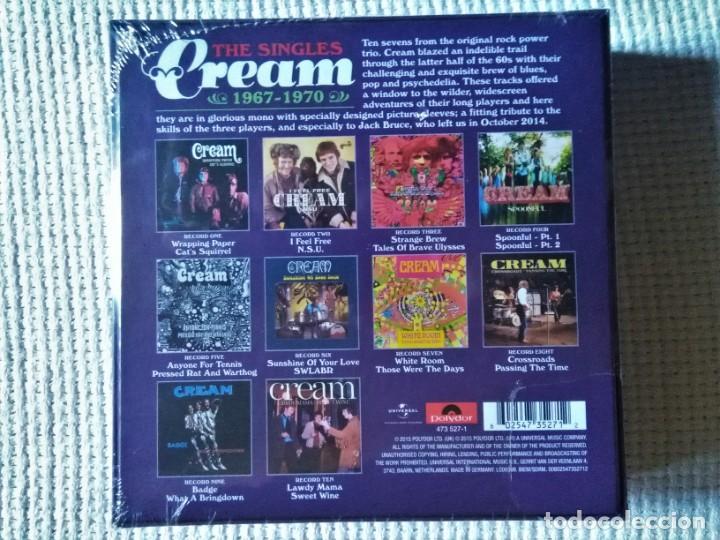 Discos de vinilo: CREAM - THE SINGLES 1967 - 1970 10 VINYL SINGLE 7 BOX SET 2015 EU SEALED - Foto 2 - 184079488