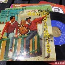 Discos de vinilo: EP DUO DINAMICO QUISIERA SER FIRMADO, AUTOGRAFIADO. Lote 184079560