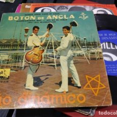 Discos de vinilo: EP DUO DINAMICO BOTON DE ANCLA FIRMADO AUTOGRAFIADO. Lote 184079748