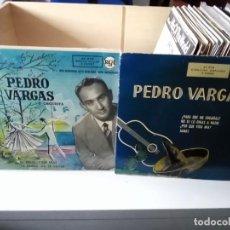 Discos de vinilo: LOTE PEDRO VARGAS. Lote 184080587