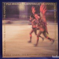 Discos de vinilo: PAUL SIMON - THE RHYTHM OF THE SAINTS - LP. Lote 184081997