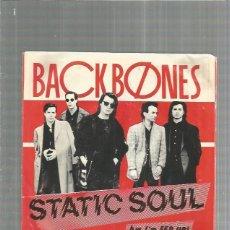 Discos de vinilo: BACKBONES STATIC SOUL + REGALO SORPRESA. Lote 184085046