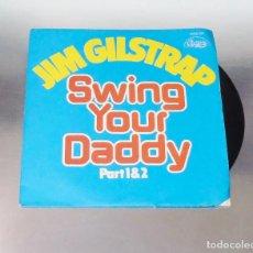 Discos de vinilo: JIM GILSTRAP --SWING YOUR DADDY ---PARTE 1 Y PARTE 2 -- -V.I.D.------MINT ( M ). Lote 184085207