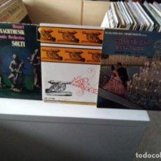 Discos de vinilo: LOTE CLÁSICO. Lote 184086591