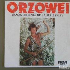 Discos de vinilo: OLIVER ONIONS: ORZOWEI, BANDA ORIGINAL DE LA SERIE DE TV; SINGLE RCA PB-6114. SPAIN, 1977. VG+/VG+. Lote 184088605