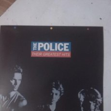 Discos de vinilo: POLICE THEIR GREATEST HITS. Lote 184098822