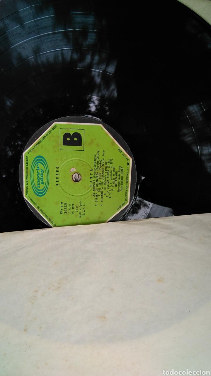 Discos de vinilo: Quilapayun basta , LP , 1974 - Foto 5 - 184100586