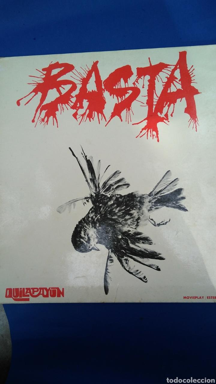 QUILAPAYUN BASTA , LP , 1974 (Música - Discos - LP Vinilo - Cantautores Extranjeros)