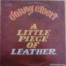 Discos de vinilo: RARE LP UK DONNIE ELBERT LITTLE PIECE OF LEATHER 1976 FUNK SOUL GEORGE DUKE BILLY COBHAM. Lote 184101596