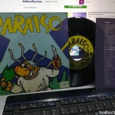 Discos de vinilo: PARAÍSO EP MAKOKI + 3 CON ENCARTE 1983. Lote 184102097