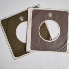 Discos de vinilo: FUNDAS SINGLE VINILO ORIGINALES. DISCOGRAFICA WARNER USA. Lote 184105346