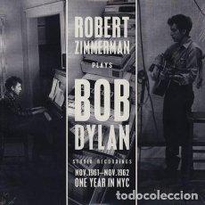 Discos de vinilo: ROBERT ZIMMERMAN, BOB DYLAN - STUDIO RECORDINGS NOV.1961 - NOV.1962 (LP 2013,DOXY DOY685) PRECINTADO. Lote 184118243