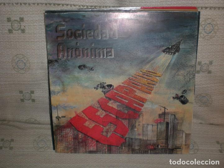 SOCIEDAD ANONIMA.- MAXI ESCAPANDO. NUEVO (Música - Discos de Vinilo - Maxi Singles - Grupos Españoles de los 70 y 80)