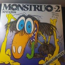 Discos de vinilo: MONSTRUO 2...DOBLE LP. Lote 184123636