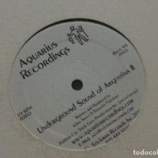 Discos de vinilo: UNDERGROUND SOUND OF ARGENTINA . Lote 184127448