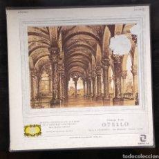 Discos de vinilo: OPERA...OTELLO,, GIUSEPPE VERDI......3 LPS. Lote 184127590