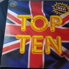 Discos de vinilo: TOP TEN...DOBLE LP. Lote 184128112
