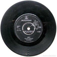 Discos de vinilo: THE BEATLES - HELP! / I'M DOWN - SINGLE PARLOPHONE 1965 UK BPY. Lote 184131300