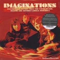 Discos de vinilo: IMAGINATIONS - PSYCHEDELIC SOUNDS FROM THE YOUNG BLOOD BEACON&MOTHER LABELS 1969-74 (LP GUESS127) . Lote 184131665