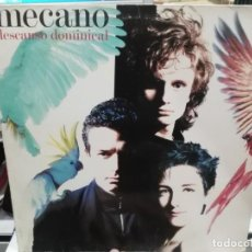 Discos de vinilo: MECANO - DESCANSO DOMINICAL - LP. DE SELLO ARIOLA 1988. Lote 184134433