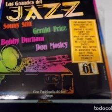Discos de vinilo: DISCO LOS GRANDES DEL JAZZ NUMERO 61 SONNY STITT, GERALD PRICE, BOBBY DURHAM, DON MOSLEY. Lote 184139827