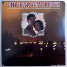 Discos de vinilo: CARL DAVIS - THE FAR PAVILIONS (BSO) - LP US 1984 - CHRYSALIS ‎FV 41464 . Lote 184142182