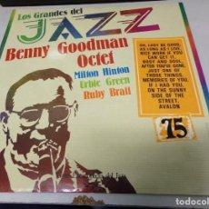 Discos de vinilo: DISCO LOS GRANDES DEL JAZZ NUMERO 75 BENNY GOODMAN OCTET, MILTON HINTON, URBIE GREEN,RUBY BRATT. Lote 184142660