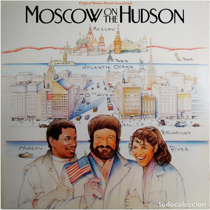 Discos de vinilo: VVAA - Moscow On The Hudson (BSO) - Lp Germany 1984 - RCA ‎BL85036 - Foto 1 - 184143528
